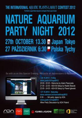 Nature Aquarium Party Night 2012