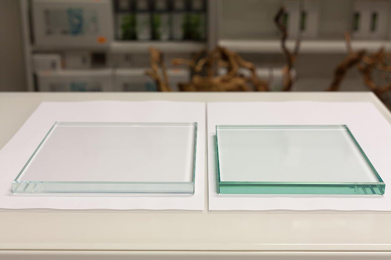 Szkło Optiwhite i Float