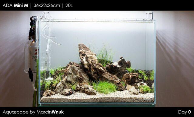 Ada Mini M - Nano akwarium