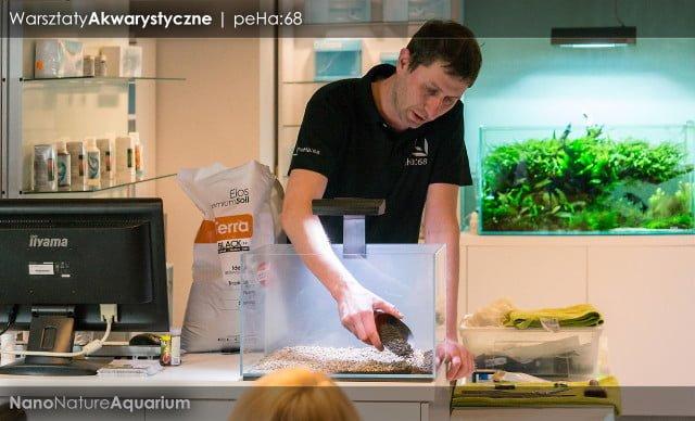 Warsztaty akwarystyczne - Nano Nature Aquarium 012