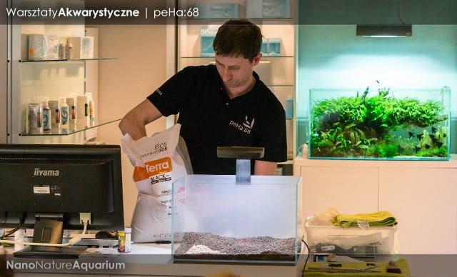 Warsztaty akwarystyczne - Nano Nature Aquarium 013