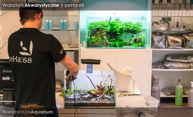 Warsztaty akwarystyczne - Nano Nature Aquarium 025