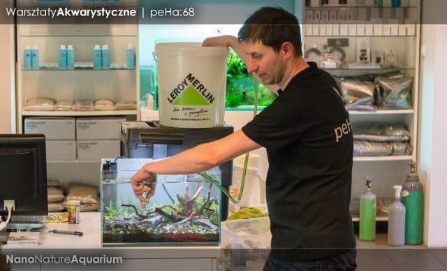 Warsztaty akwarystyczne - Nano Nature Aquarium 026