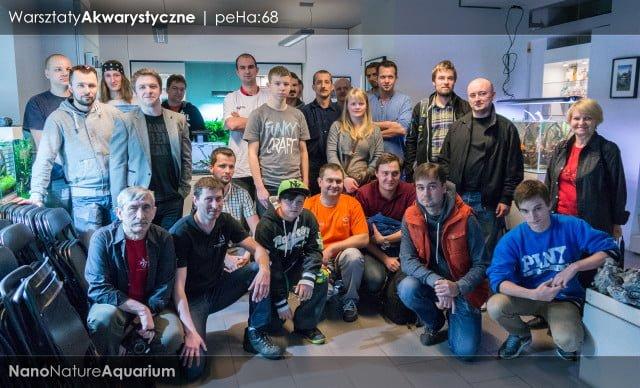 Warsztaty akwarystyczne - Nano Nature Aquarium 035
