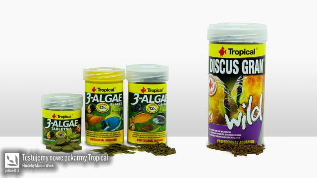Pokarmy Tropical 3-Algae