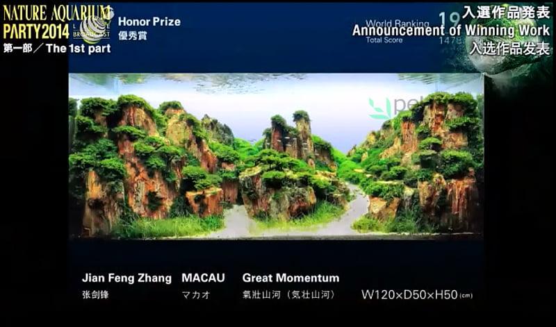 19. Jian Feng Zhang - Great Momentum