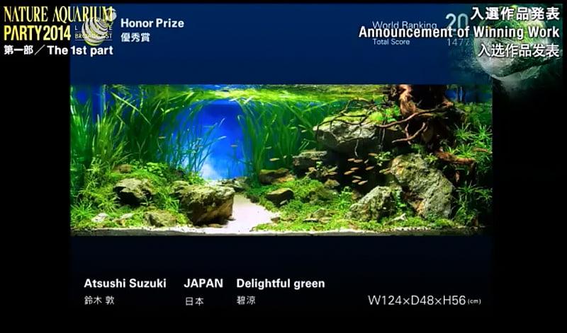 20. Atsushi Suzuki - Delightful green