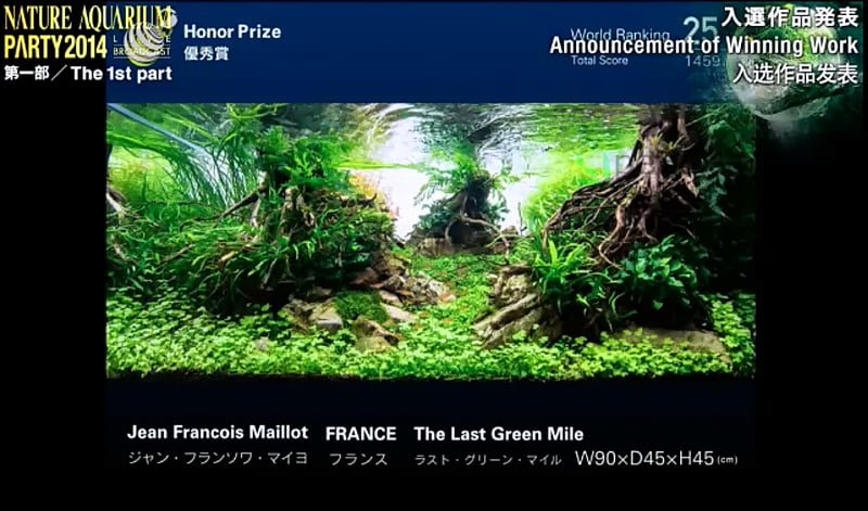 25. Jean Francois Maillot - The Last Green Mile