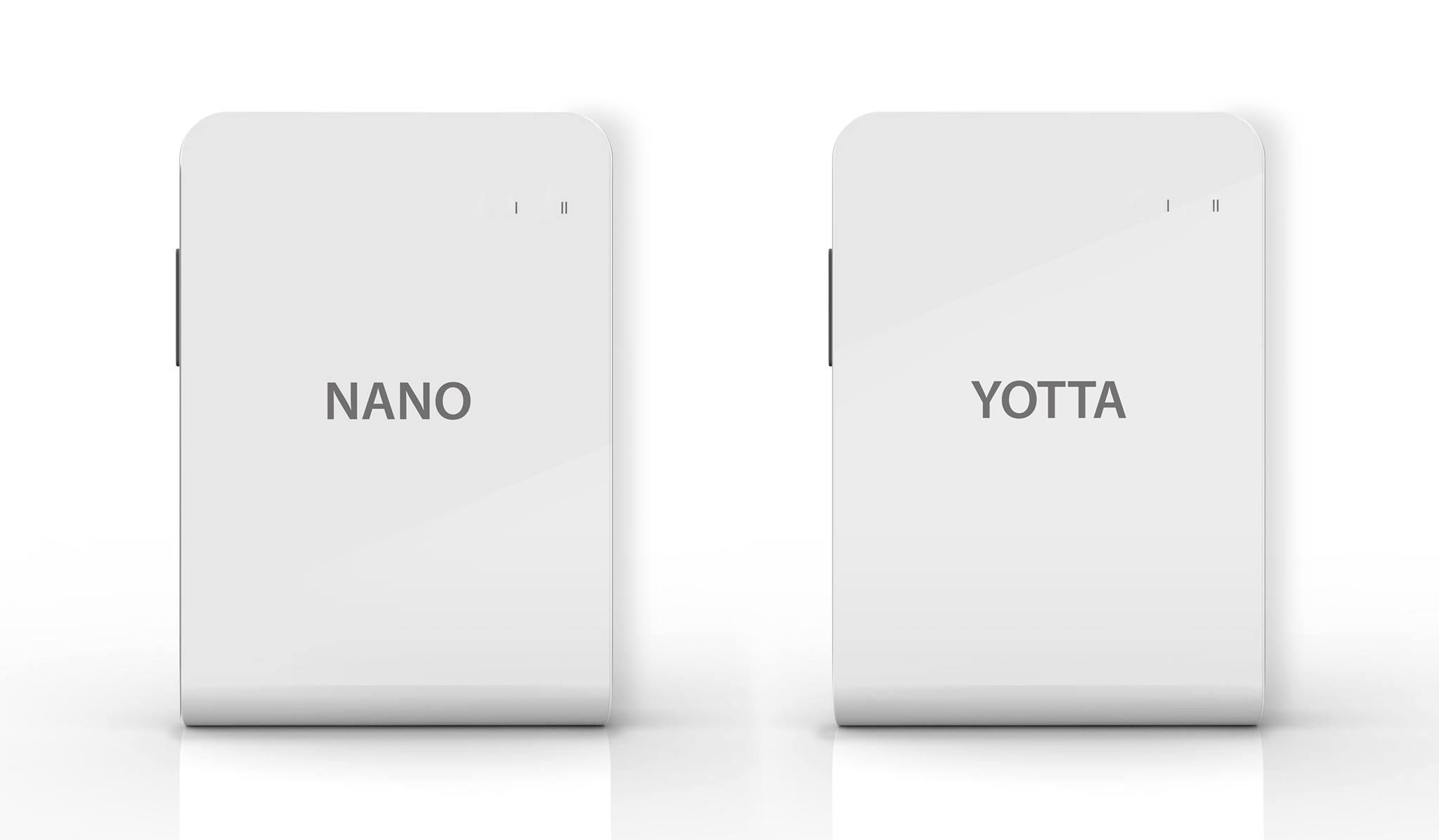 Twinstar2 Nano i Twinstar2 Yotta