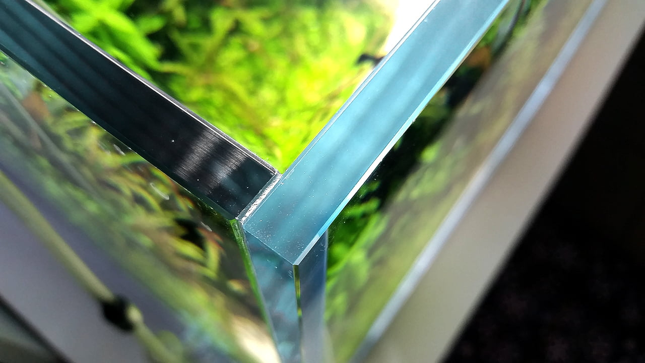 Akwarium - Szlifowane krawędzie
